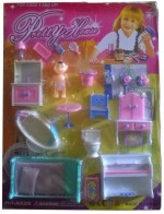 New Pinch Dolls & Doll Houses New Pinch Pretty House Furniture Kit