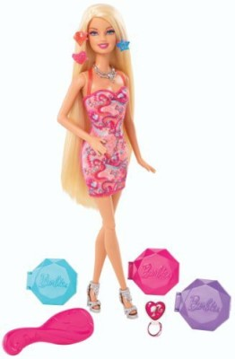 Barbie Hair Chalk Doll
