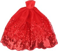 Magideal Party Outfit, Special Occasion Outfit For 40 - 45 Cm Doll (Red)