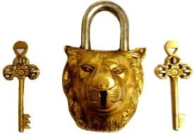 Purpledip Brass Metallic door lock