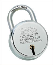 GIFTO Steel Glossy door lock