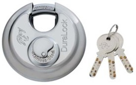 GODREJ Stainless Steel Chrome door lock