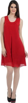 Mineral Women's A-line Red Dress