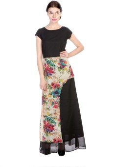 James Scot Women's Maxi Black Dress