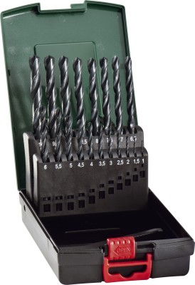 HSS Brad Point Drill Bits Set (19 Pc)