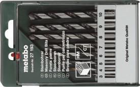 27 193 Tipped Masonry Drill Bit Set (8 Pc)