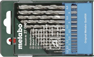 HSS 27 096 Twist Drill Brad Points Set (13 Pc)
