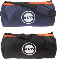 KVG Combo Gym Bag 16 Inch/40 Cm Blue, Black, Orange