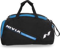 Nivia Sports Space Gym Bag Multi-purpose (Black, Blue, Kit Bag)