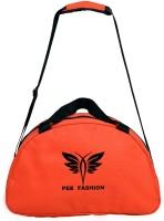 Pee Fashion Gym Bag 18 Inch/45 Cm Orange, Black