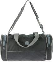 I Plain Spacious 13 Inch Gym Bag Black