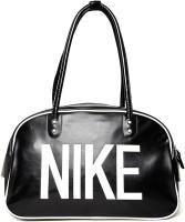 Nike Heritage Ad Shoulder Club 11 Inch Travel Duffel Bag BLACK/WHITE/(WHITE)