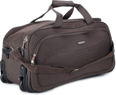 Princeware Princeware Russel 25.6 Inch Duffel Strolley Bag (Brown)
