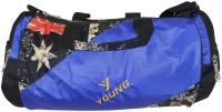 Bagathon India Young Star Travel Duffel And Sports Gym Bag With Side Pockets [BLUE] 17 Inch/43 Cm Blue
