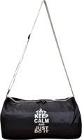 Auxter Auxler Keep Calm Gym Bag 19 Inch/48 Cm (Expandable) Black