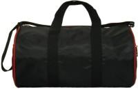 Compass Trendy Curve Design 15 Inch Gym Bag Black, Red