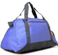 Puma Fit At Sports Duffle 19.3 Inch Travel Duffel Bag Ultramarine, Turbulence