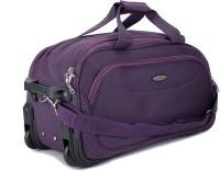 Princeware Princeware Russel 21.7 Inch Duffel Strolley Bag (Violet)