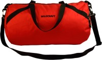 Wildcraft The Drum Red Gym Bag Red