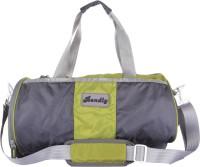 Bendly Round Gym 17 Inch Travel Duffel Bag Mehandi