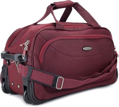 Princeware Princeware Russel 21.7 Inch Duffel Strolley Bag (Maroon)