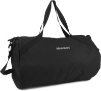 Wildcraft The Drum 2_Black 18.1 Inch Gym Bag Black