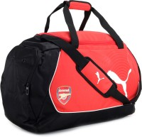 Puma Arsenal 20.7 Inch Travel Duffel Bag - Red, Black And White