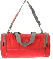 I Plain Spacious 13 Inch Gym Bag Red
