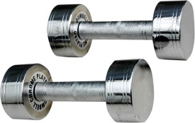 Shubhras Steel Fixed Weight Dumbbell