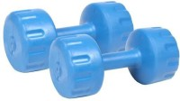Livestrong Pvc Fitness Excercise Pack Of 2 Fixed Weight Dumbbell (Pack Of 2, 1 Kg Each)