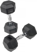 Lodhi Sports Rubber Fixed Weight Dumbbell