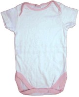 Cool Baby Baby Boy's, Baby Girl's White Romper