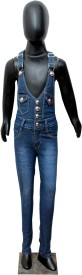 Sunday Casual Girl's Blue Dungaree