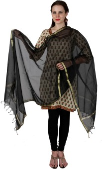 Enchanted Drapes Chanderi Solid Women's Dupatta