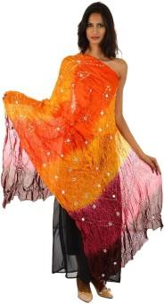 Fashiana Art Silk Self Design Women's Dupatta