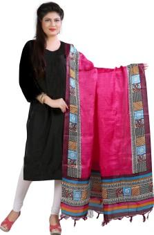 Archishmathi Art Silk Floral Print Women's Dupatta - DUPEJSGAZD8Z3EPY
