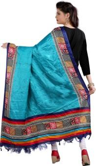 Archishmathi Art Silk Floral Print Women's Dupatta - DUPEJZZH5NXR3EXM