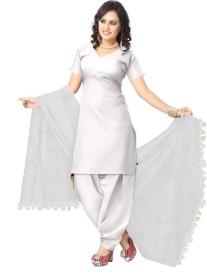 ZARIBUTI Cotton Solid Women's Dupatta