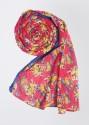 W Cotton Blend Printed Women's Dupatta