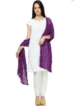 Shaditya Fashions Faux Chiffon Solid Women's Dupatta - DUPE9SY5NMWBDJYA