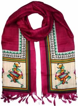 Shopatplaces Art Silk Self Design Women's Dupatta - DUPEE5RJZHKSEKED