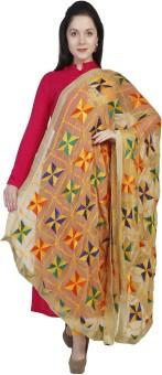 Dupatta Bazaar Faux Chiffon Embroidered Women's Dupatta - DUPEK5KVAVXS2NAZ