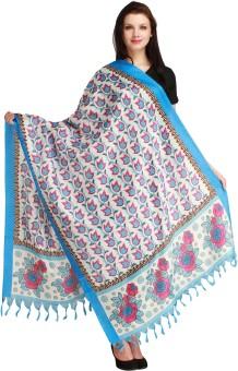 Aksara Art Silk Floral Print Women's Dupatta - DUPEGX4CBNKUEPAH