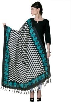 Varanga Chanderi Printed Women's Dupatta - DUPE8RENCSDRDPQX