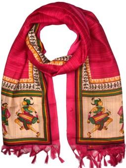 Shopatplaces Art Silk Self Design Women's Dupatta
