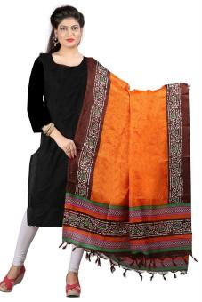 Archishmathi Art Silk Floral Print Women's Dupatta - DUPEJSGAEHPZZUFS