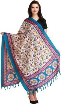 Aksara Art Silk Floral Print Women's Dupatta - DUPEGX4AATGPUX2X