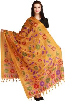 Aksara Art Silk Floral Print Women's Dupatta - DUPEGX48GFC8ZXZS