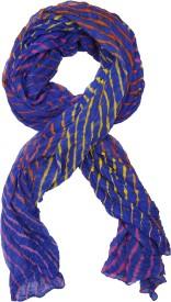 SAANKHYA Pure Chiffon Striped Women's, Girl's Dupatta