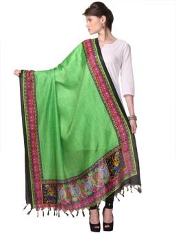 Varanga Chanderi Printed Women's Dupatta - DUPE8REN6QS8ZZTD